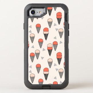 Ice Cream Sweet Summer Tropical / Andrea Lauren OtterBox Defender iPhone 7 Case