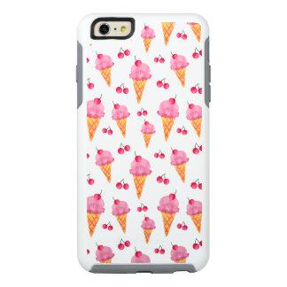 Ice creams & cherries OtterBox iPhone 6/6s plus case