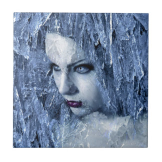 ice queen small square tile