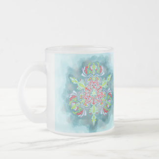 Ice Queen's Frosted Snowflake Mug