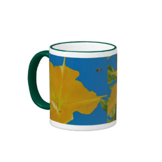 If Anything is Excellent or Praiseworthy Ringer Mug