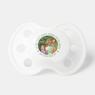 If You Don't Know Where You're Going Any Path Will Pacifiers