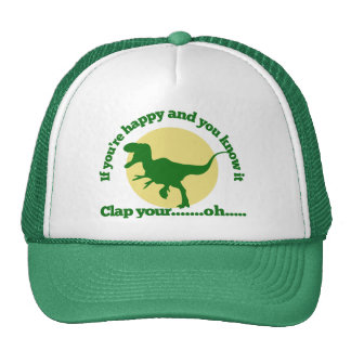 If youre happy and you know it cap