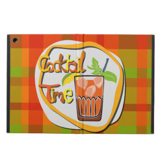 "Illustration Cocktail with fruit ""Cocktail Time"" iPad Air Covers"