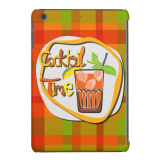 "Illustration Cocktail with fruit ""Cocktail Time"" iPad Mini Covers"