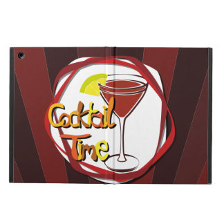 "Illustration Cocktail with lemon ""Cocktail Time"" iPad Air Case"