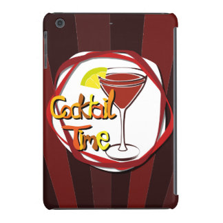 "Illustration Cocktail with lemon ""Cocktail Time"" iPad Mini Cover"