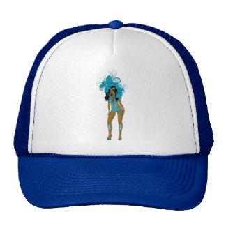 Illustration for carnival costume o las vegas show cap