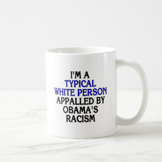 I'm a 'typical white person' appalled by... basic white mug