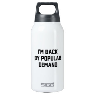 I'm Back By Popular Demand 0.3 Litre Insulated SIGG Thermos Water Bottle