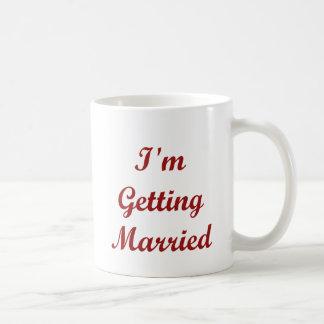 I'm Getting Married Basic White Mug