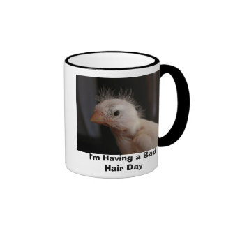 I'm Having a Bad Hair Day Ringer Mug