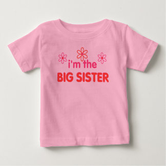I'm the big sister t shirts