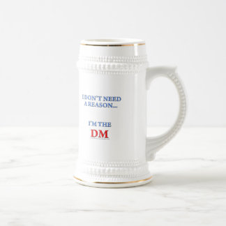 I'm the DM Beer Steins