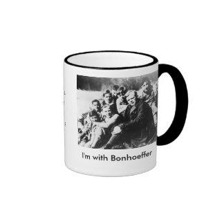 I'm with Bonhoeffer Ringer Mug