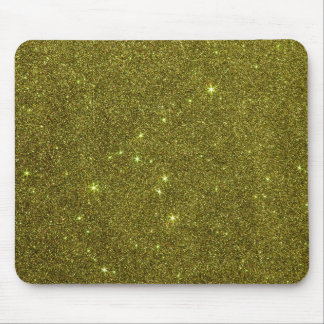 Image of greenish yellow glitter mouse pad