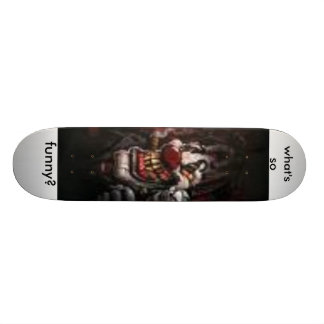 images (1), what's so, funny? 19.7 cm skateboard deck