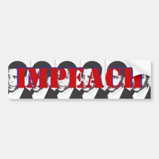 impeach Obama Bumper Sticker
