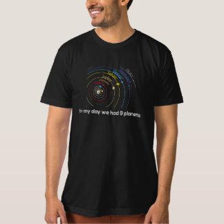 In My Day We had Nine Planets Tee Shirt