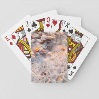 Incoming Surf And Seashells On Sanibel Island Deck Of Cards