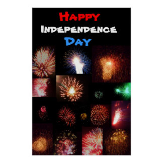 INDEPENDENCE DAY FIREWORKS poster