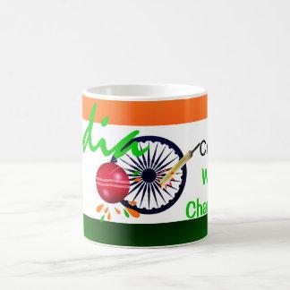 India 2011 ICC Cricket World Cup Champions Mug