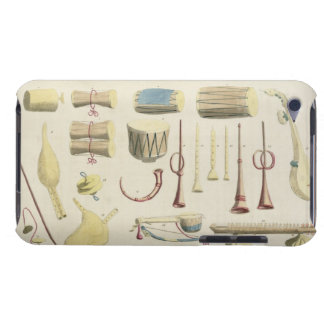 Indian Musical Instruments, plate 23 from 'Orienta Barely There iPod Case