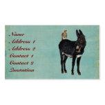 INDIGO DONKEY & OWL Business Card