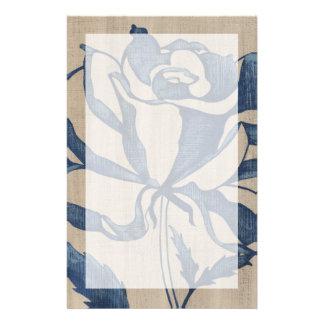 Indigo Rose Customized Stationery