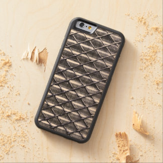 Industrial Chain Link and Metal Fence Maple iPhone 6 Bumper