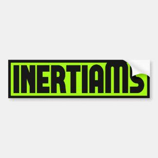 inertiaMS - BLOCK Sticker Bumper Sticker
