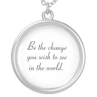 Inspirational necklaces unique jewelry gift idea