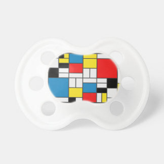 Inspired By Piet Mondrian Baby Pacifier