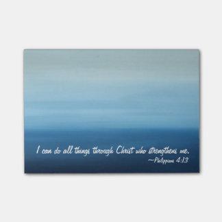 Inspriational Scripture Ocean Post-it Notes Post-it® Notes