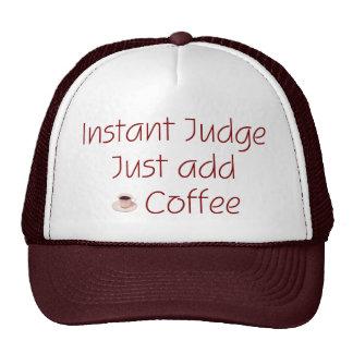 Instant Judge Hat