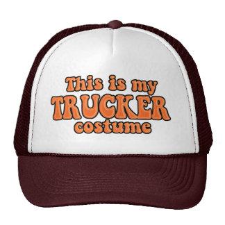 Instant Trucker Halloween Costume Cap