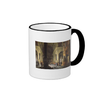 Interior of a Temple, 1652 Ringer Mug