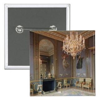 Interior of the Salon de Musique 15 Cm Square Badge