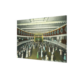 Interior View of the Casino Ball Room Gallery Wrap Canvas