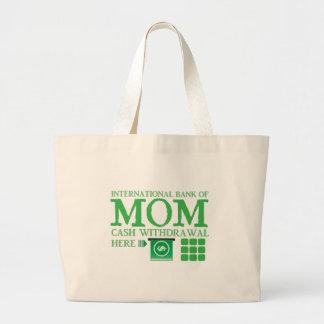 International bank of MOM (cash withdrawal here) Jumbo Tote Bag