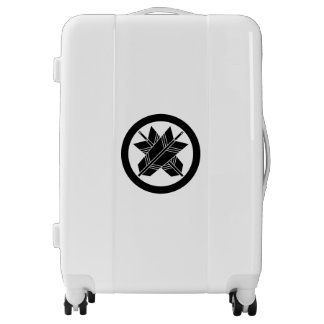 Intersecting arrows in circle luggage