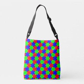 Intersecting circles tote bag