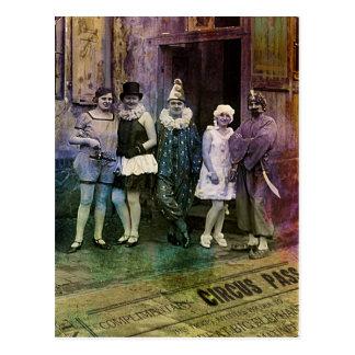 Interval at the Circus Postcard