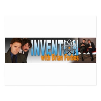 Invention with Brian Forbes Logo Postcard