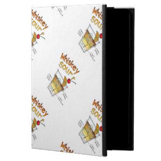 iPAD AIR CASE, WHISKEY SOUR RECIPE COCKTAIL ART iPad Air Case