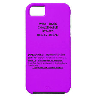 iphone 5 Case-Mate Vibe /w What Does Inalienable iPhone 5 Cover