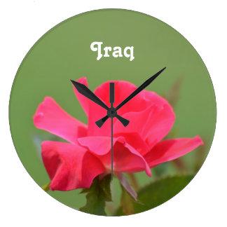 Iraqi Rose Wall Clocks