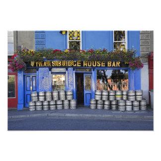 Ireland, Kilkenny. Exterior of pub with beer Photo