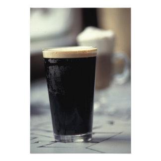 Ireland. Pint of stout. Art Photo