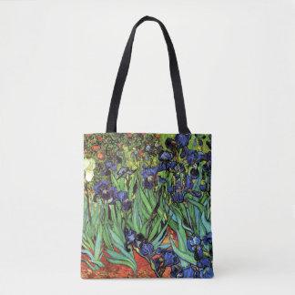Irises by Van Gogh Fine Art Tote Bag